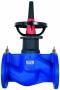 Ручной балансировочный клапан Honeywell V6000D Kombi-F-ll