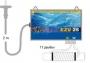 Прибор электромагнитной обработки воды EZV